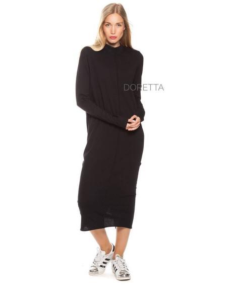 WOMEN'S DRESS BLACK IS