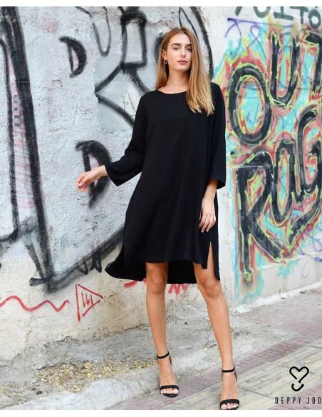Dress Black 100% viscose