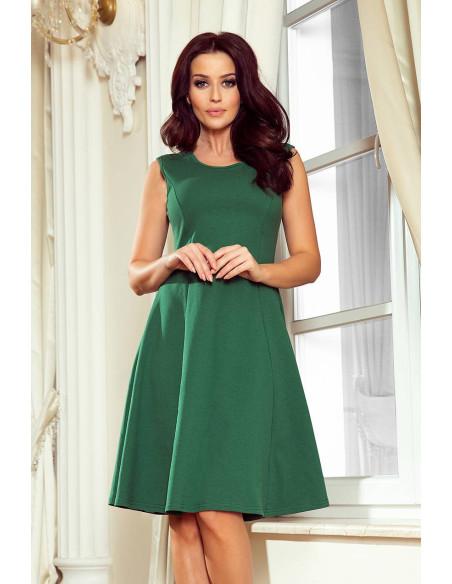 Women's trapezoidal Dress Numoco Green