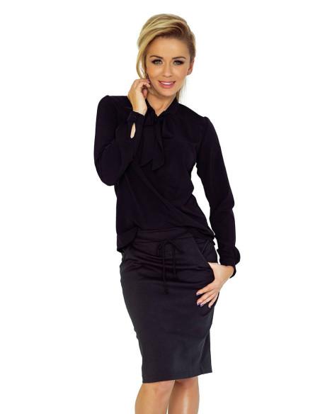 Women's Blouse Numoco with bond Black