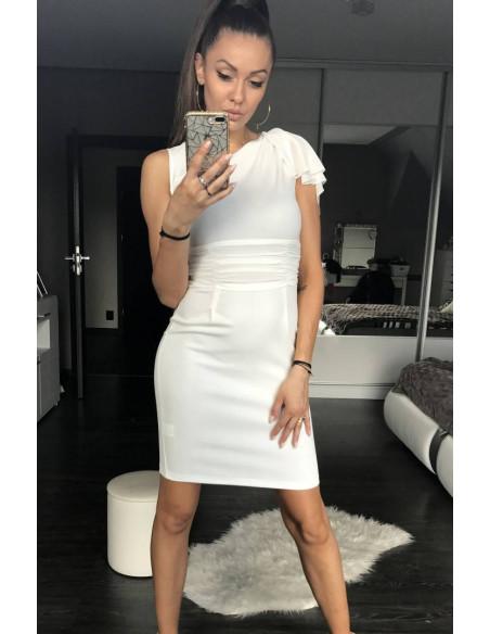 Evening Dress EMAMODA White