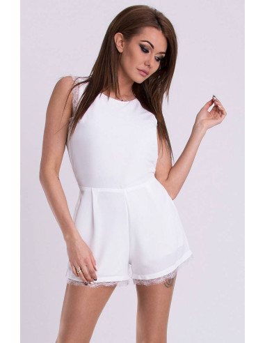 Women's Playsuit EMAMODA White